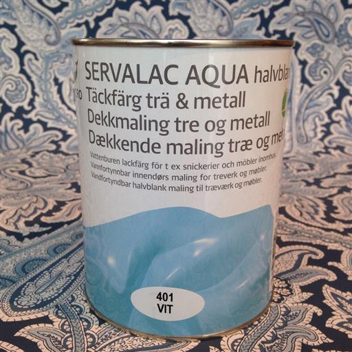 Alcro Servalac Aqua Lackfärg