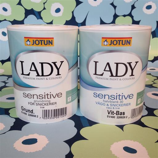 LAGERRENSNING Jotun Lady Sensitive!