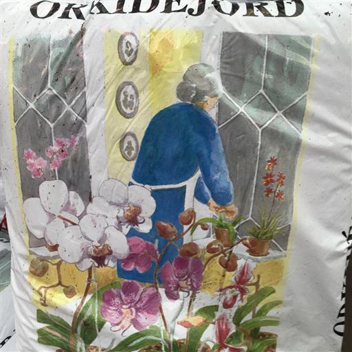 Orkidejord 6l