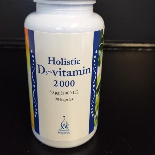 D-vitamin 2000IE Holistic