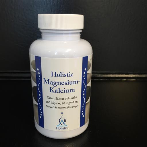 Magnesium-Kalcium 80/40 100k Holistic