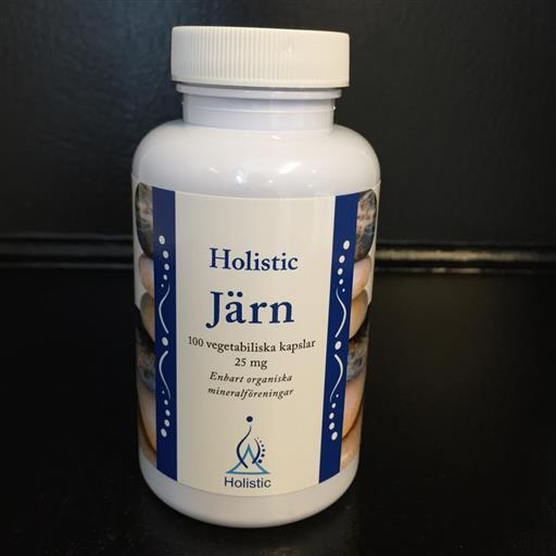 Järn 25mg 100k Holistic