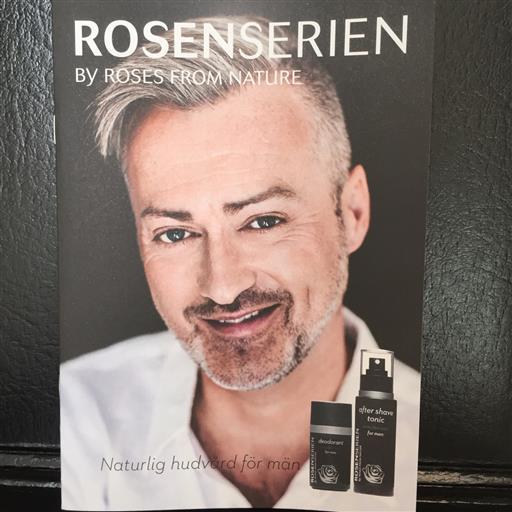 Rosenserien hudvård för män