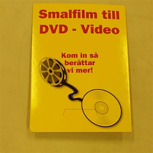 Smalfilm till DVD