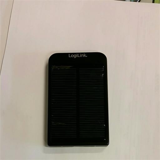 Solcellsladare med 2600 mAh batteri