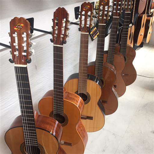 Spanska gitarrer