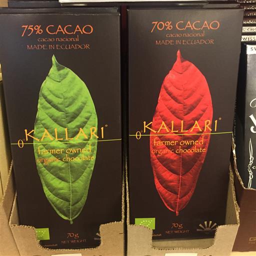 Mörk choklad Kallari