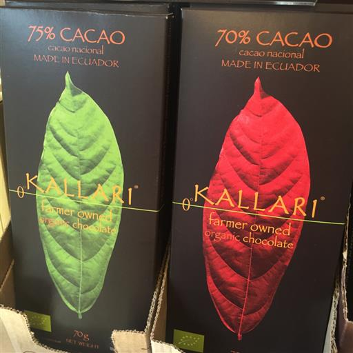 Ekologisk choklad