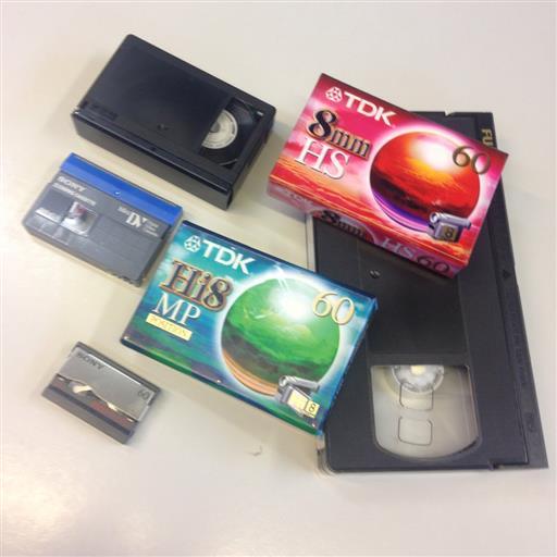 Överför VHS till DVD