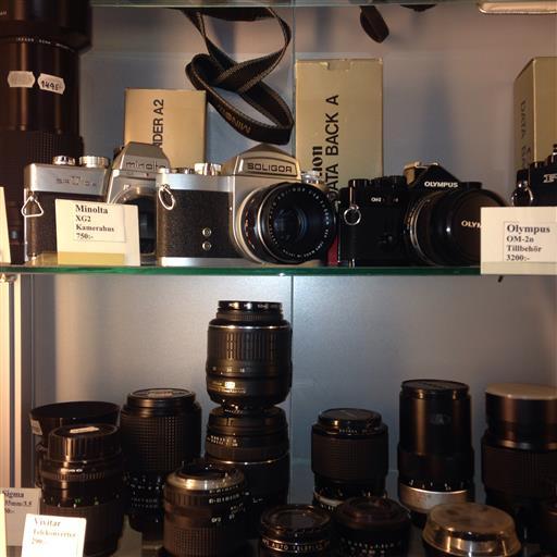 Begagnade kameror