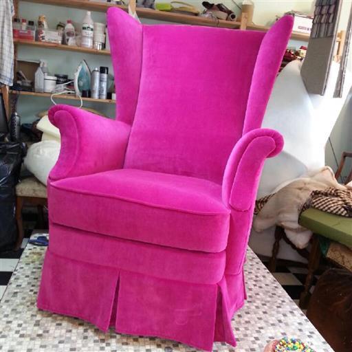 Omklädsel av möbler
