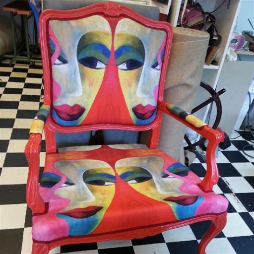 Omstoppning omklädsel möbler