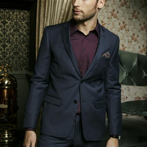Dexter Kostym Slim Fit blå
