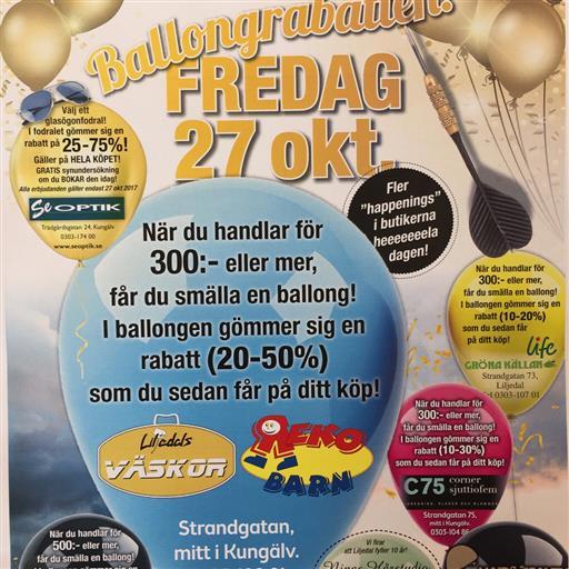 10-årsjubileum med ballongrabatter
