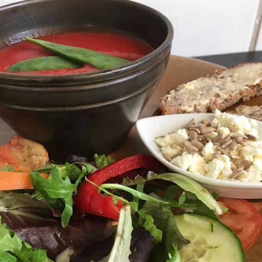 Dagens soppa på Kafé Kongelf