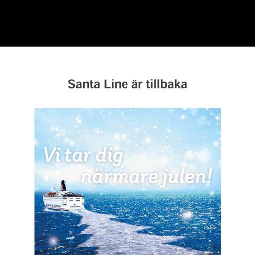 Stena Line = Santa Line