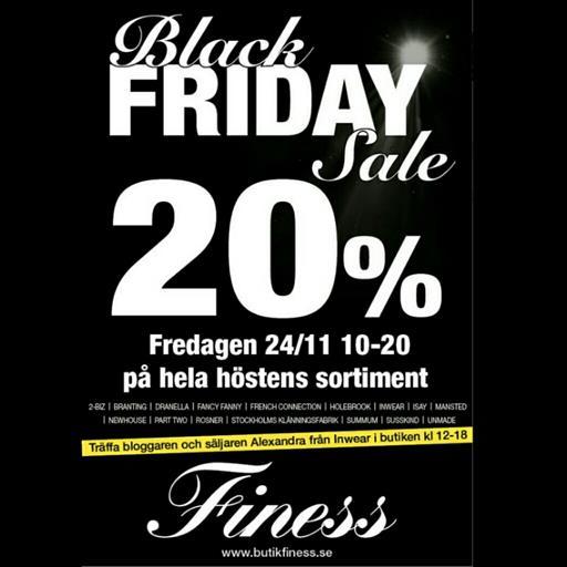 Black Friday på Finess