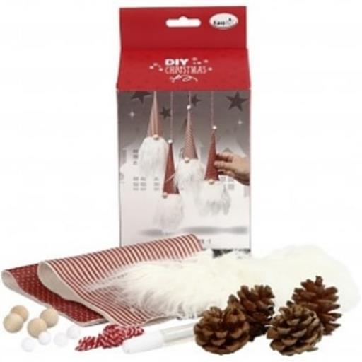 Julpyssel - färdiga kit i olika former