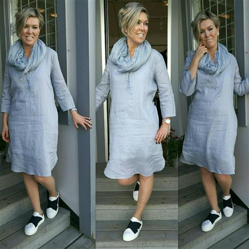 Linne klänning/skjorta från Inwear