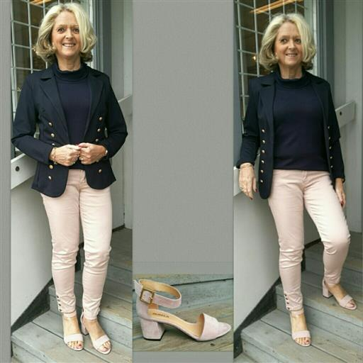 7/8 dels jeans från Dranella