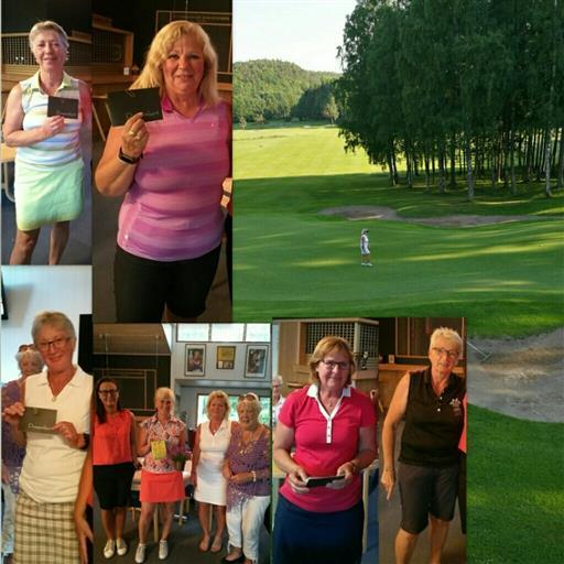 Golftävling på Gullbringa igår.