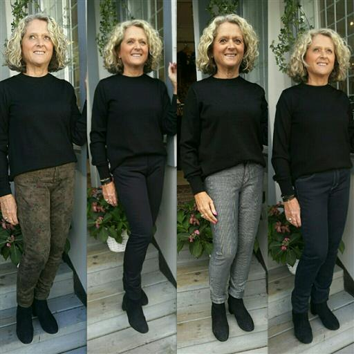 4 olika Bessie jeans att välja på