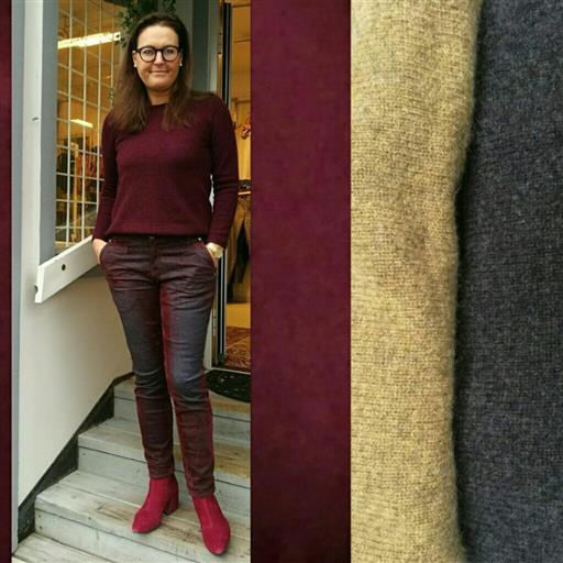 Tröja i Jak ull från Mansted