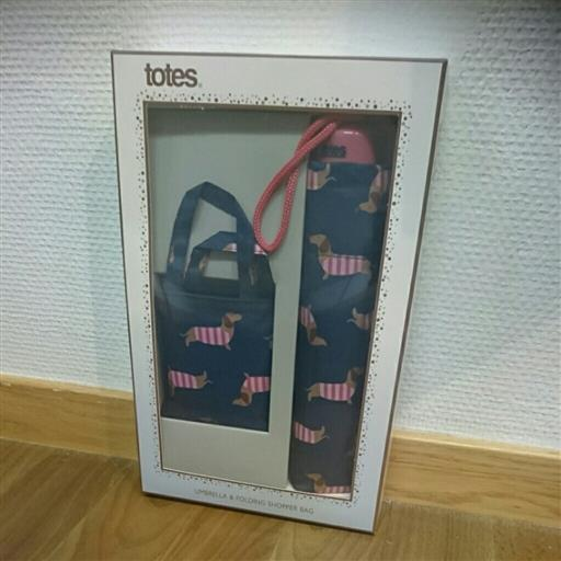 Presentkit paraply+shoppingbag