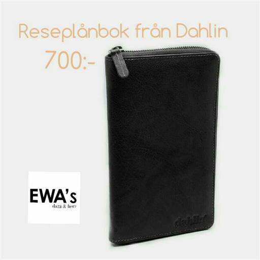 Exklusiv reseplånbok från Dahlin