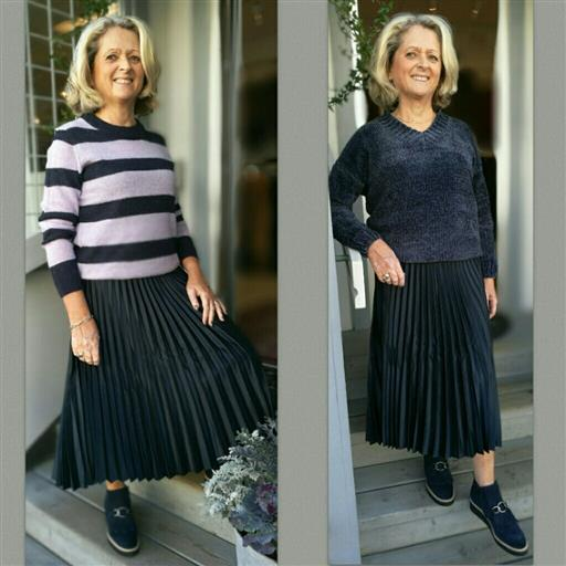 Plisserad kjol från Part Two