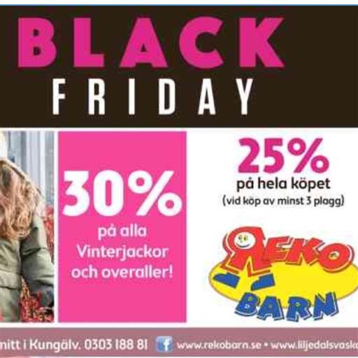 Black Friday! Fynda hos oss!🎁