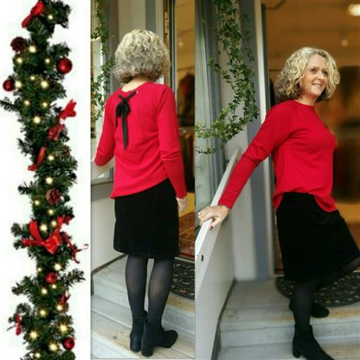 Rita knit blouse från Isay