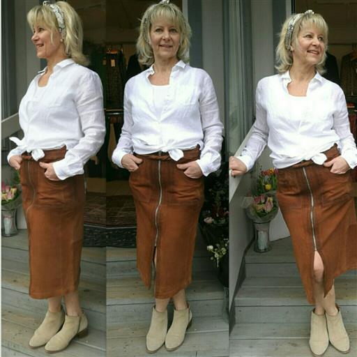 Skinn kjol från Denimhunter