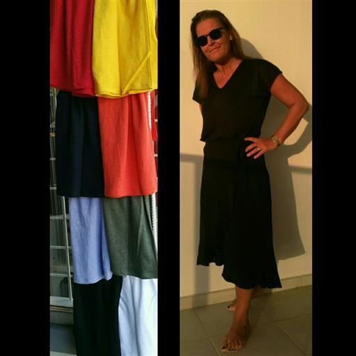 Linne t-shirt från Inwear
