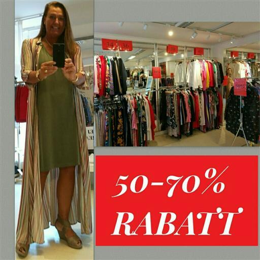 Nu 50-70% rabatt i butiken!