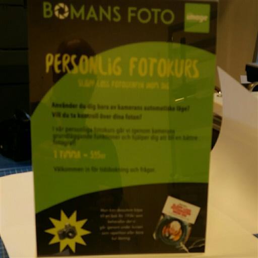 Personlig fotokurs