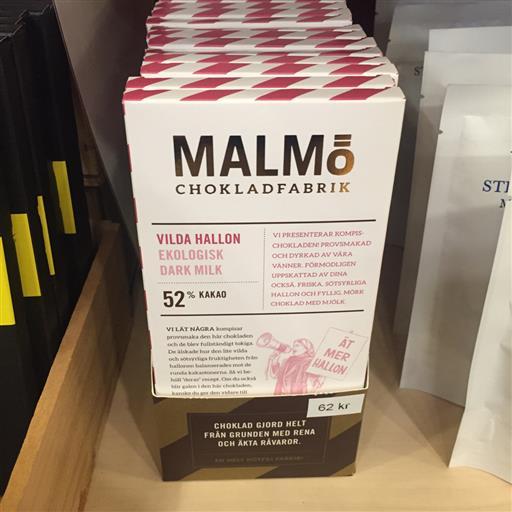 Malmö Choklad Hallon
