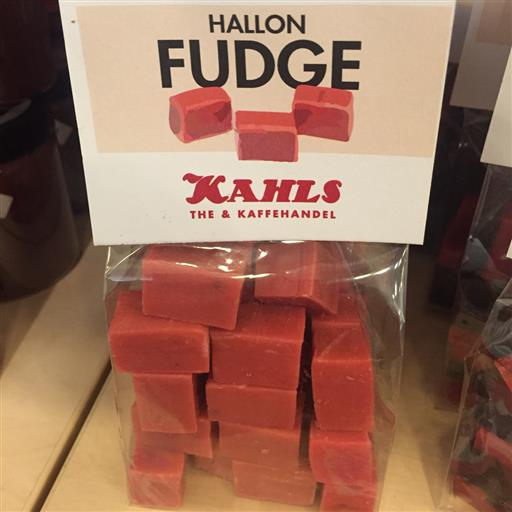 Hallon Fudge