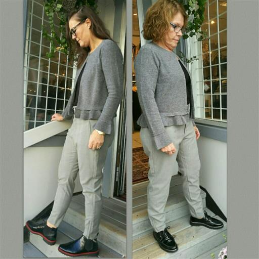 Glencheck mönstrade Nica byxan från Inwear