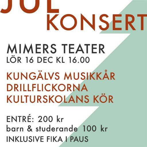 Julkonsert på Mimers Teater