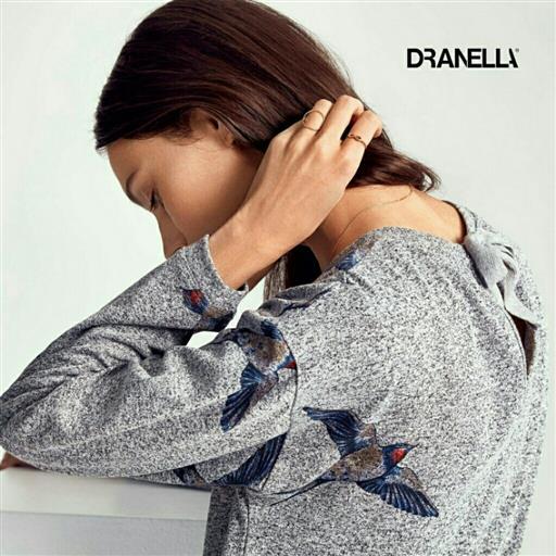 Collegetröja från Dranella