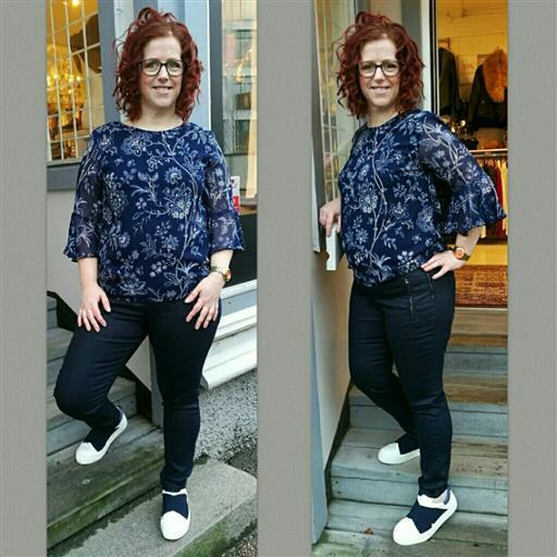Trine blouse från Isay