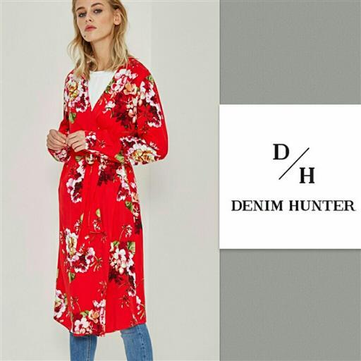Sara wrap dress från Denim Hunter