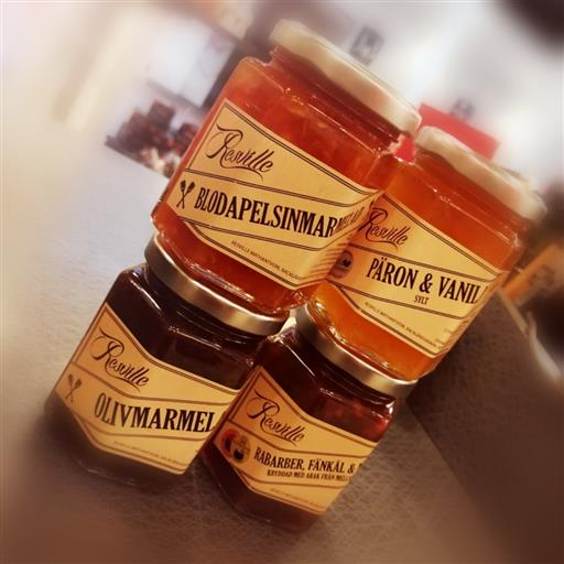 Marmelader och sylt från Resville