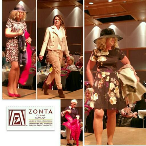Zontas Modevisning igår på Fregatten
