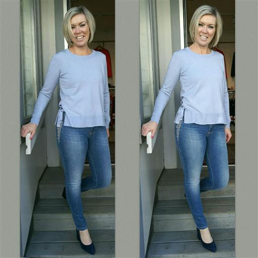 Roma shine jeans från Isay