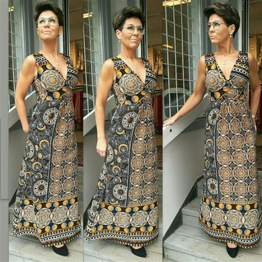 Henne long dress från Isay
