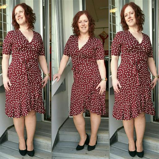 Omlott klänning från Part Two