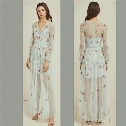 Ljusblå klänning från French Connection.