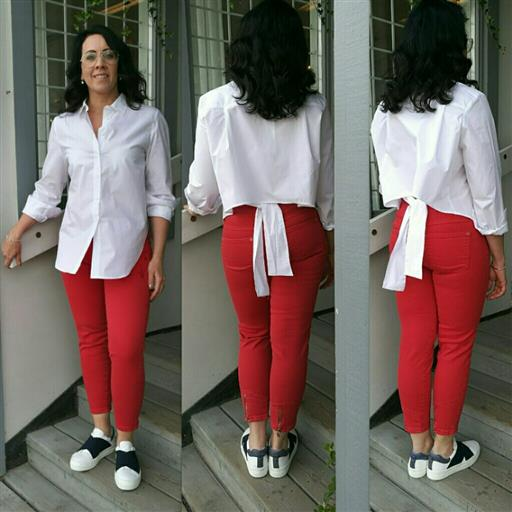 Sanne 7/8 dels jeans från Bessie jeans